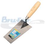 Cuchara de albañil mango madera punta cuadrada 5