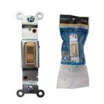 Interruptor sencillo para embutir marfil (UO7)