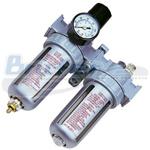 Filtro de aire con regulador y lubricador