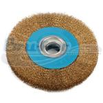 Cepillo circular latonado de 6